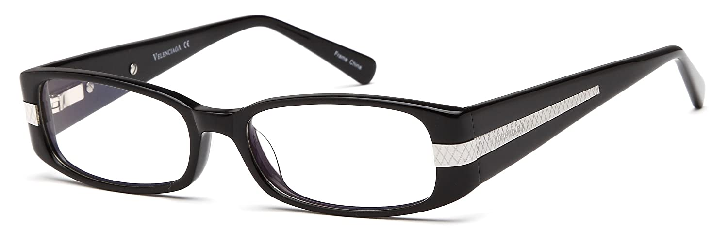 d42fe4615d4 Amazon.com  Womens Kisses XOXO Thin Framed Prescription Eye Glasses Frames  in Black  Clothing