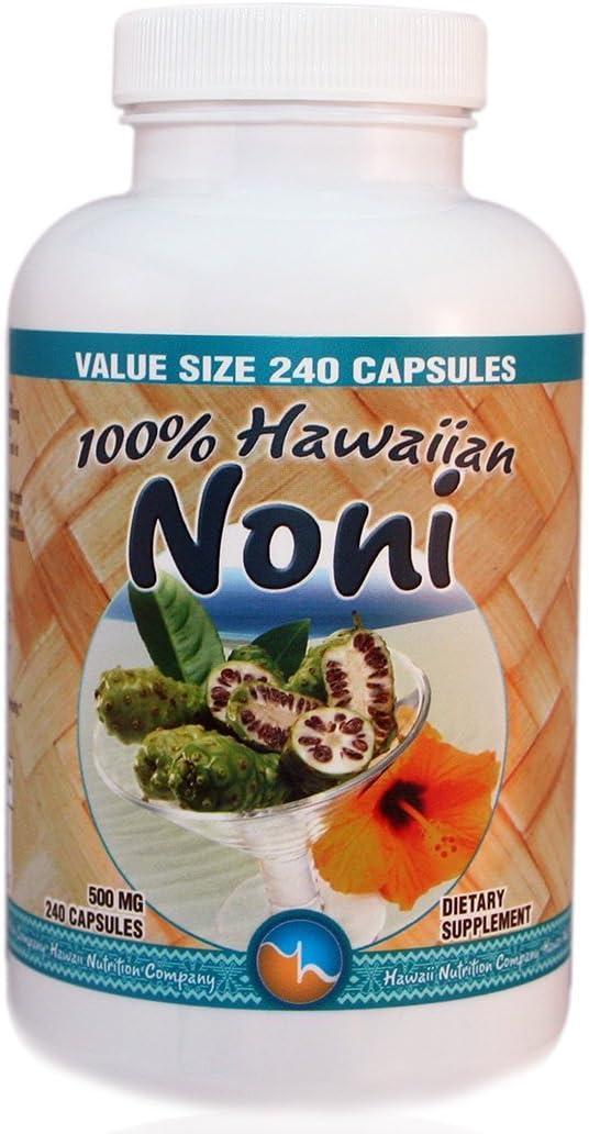 Hawaiian Noni Capsules 240 count VALUE SIZE