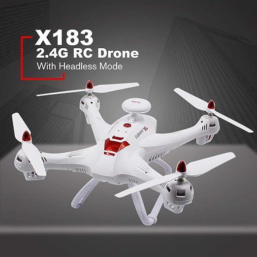 Laurelmartina X183 2.4G RC Drone Modo sin Cabeza Altitud Sostener ...
