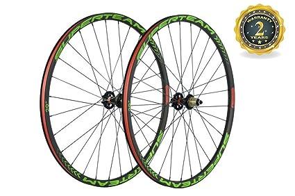 Amazon Com Superteam 29er Carbon Wheelset 25mm Depth 27mm Width