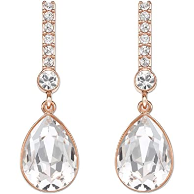6a710e99cd00 Image Unavailable. Image not available for. Color  Swarovski Attention Pierced  Earrings ...
