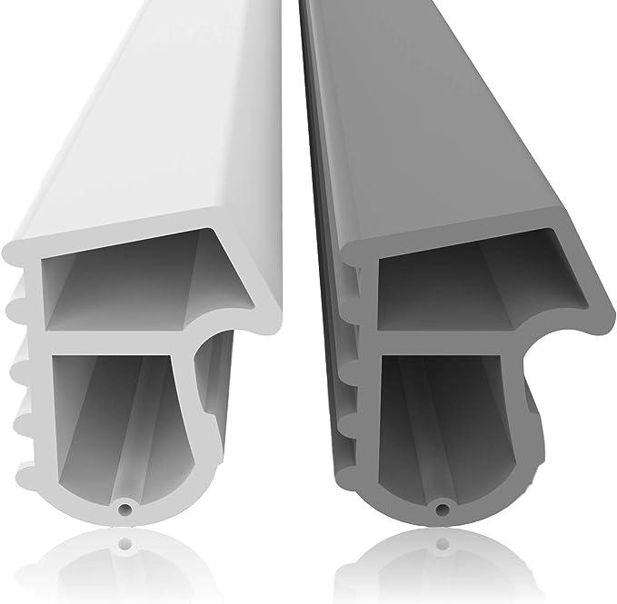 Sello de la estructura de acero contra corrientes de aire El ruido y el polvo ahorran costos de calefacción Junta de goma Junta de la puerta Puerta cortafuego Puerta del sótano: Amazon.es: