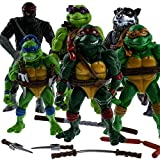 NEW Teenage Mutant Ninja Turtles 6PCS/Lot Action Figure Anime Movie Collect Toy