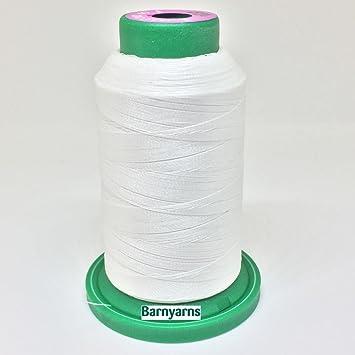Bobina de hilo Isacord para máquina de coser n.º 40, de 1000 m, color blanco (col. 0015): Amazon.es: Hogar