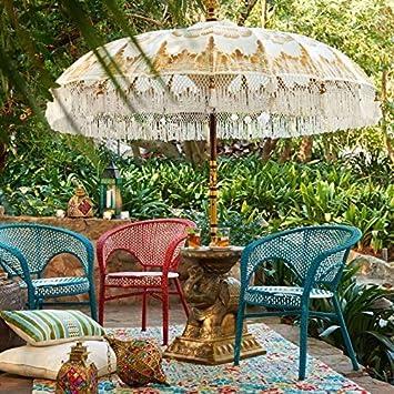 La Vida en Led Sombrilla Balinesa Parasol 3 Metros diámetro Paradise Luhur