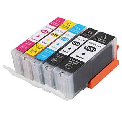 Caidi - Cartuchos de Tinta compatibles con Canon PGI-550 / CLI-551 ...