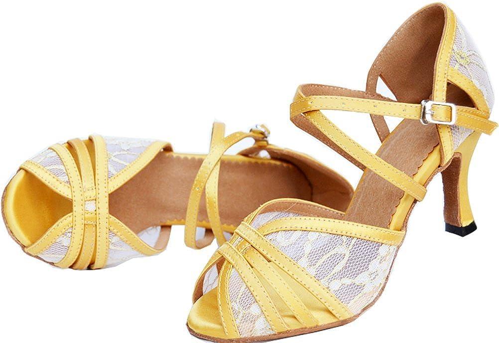 Womens Latin Ballroom Shoes Body Strap Peep-Toe Professional Dance-Shoes Dance-Shoes Professional 004 B07G31CP1K Dance 5db94e