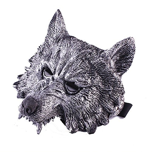 Christmas Wolf's latex Head Mask for Cosplay Masquerade (Cry Baby Movie Halloween Costume)