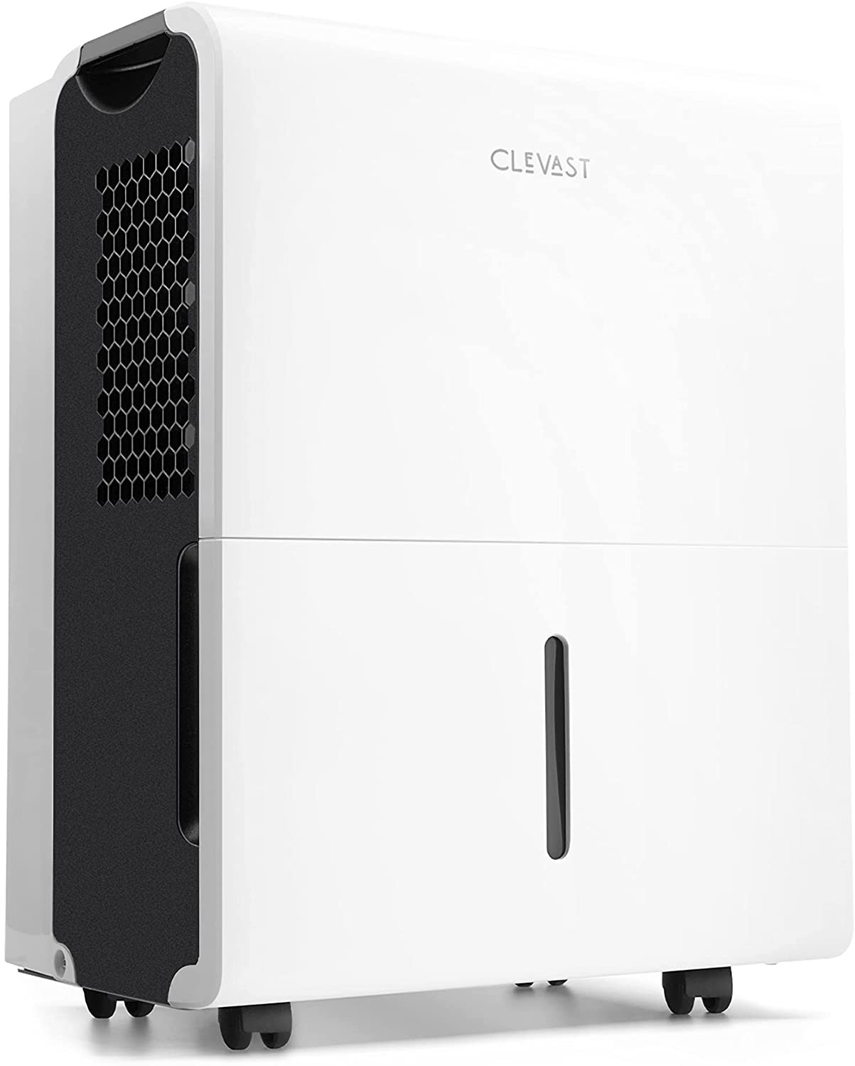 CLEVAST 1,500 Sq. Ft Energy Star 22 Pints Dehumidifier with Reusable Air Filter for Home, Basement, Living Room, Garage and Closet - Efficiently Removes Moisture, 0.8 Gallons Removable Water Tank, UL Listed