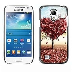 Paccase / SLIM PC / Aliminium Casa Carcasa Funda Case Cover - Tree LOVE - Samsung Galaxy S4 Mini i9190 MINI VERSION!