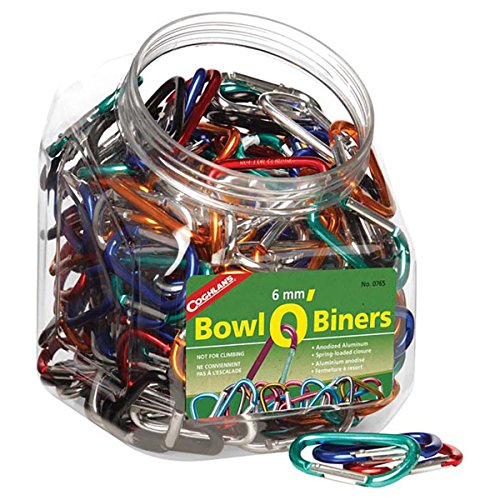 Coghlan's 6mm Bowl O/Biners 174 Pieces by Coghlan's