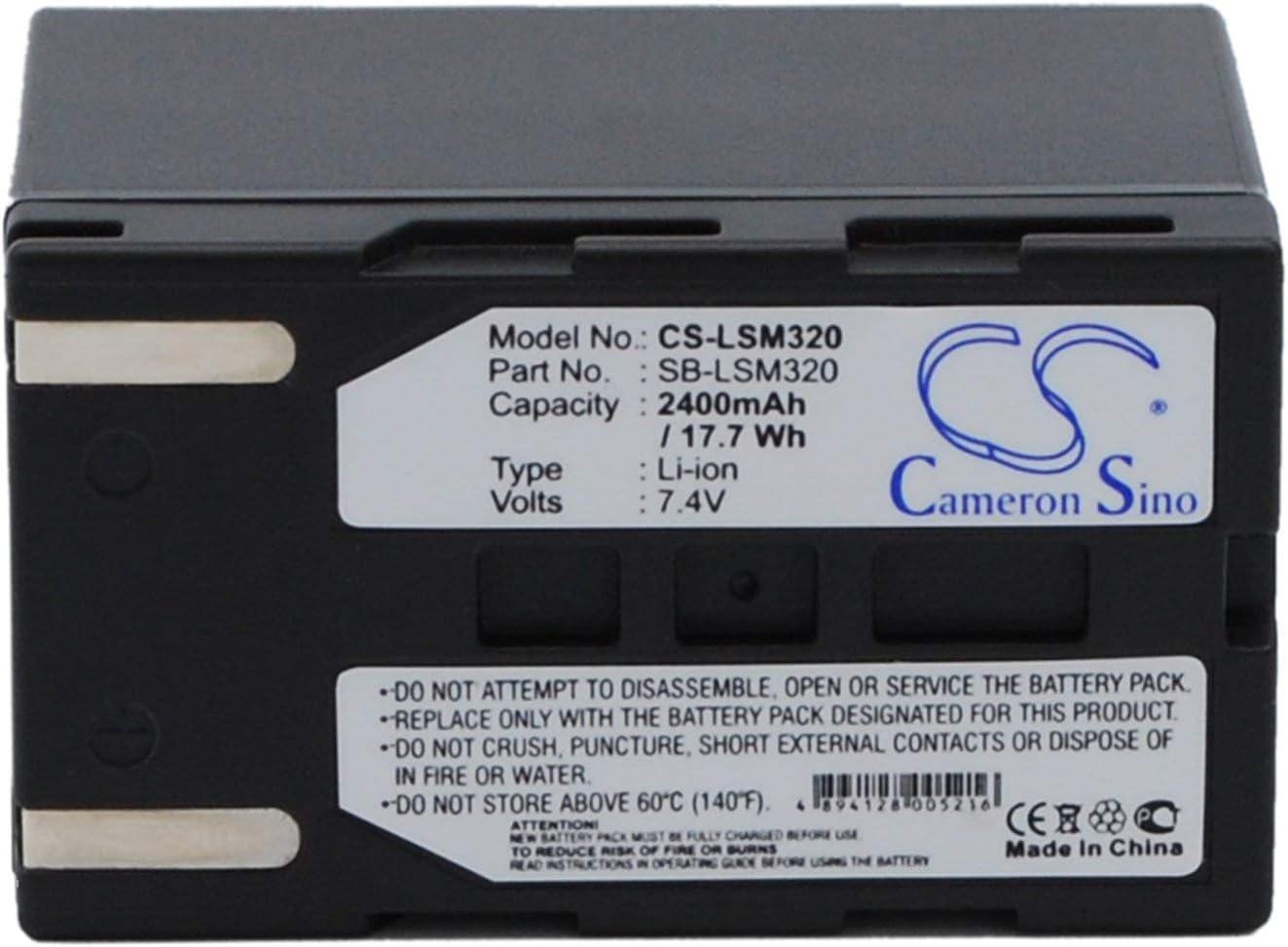 VP-D363i VP-D365Wi Digital Camcorder Battery Pack for Samsung VP-D363 VP- D364W VP- D364Wi VP-D365W