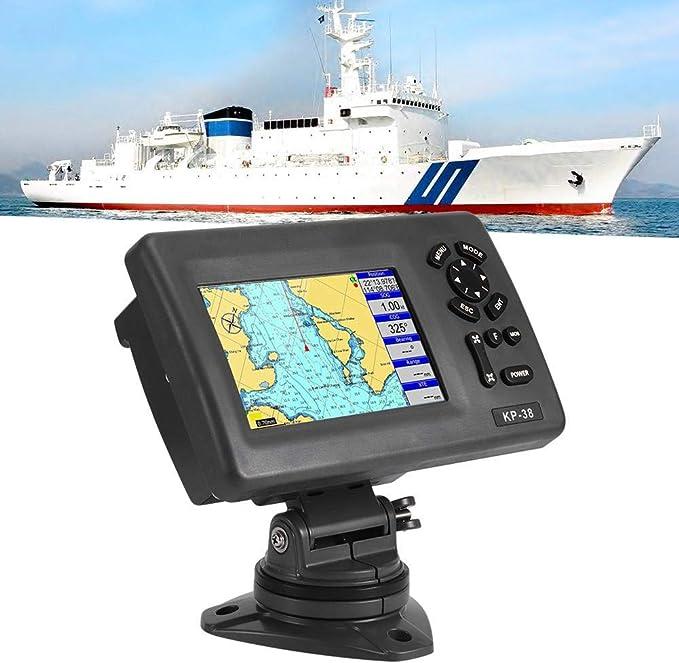 Yctze Marine GPS, Plotter con pantalla LCD LCD Navigator GPS para ...