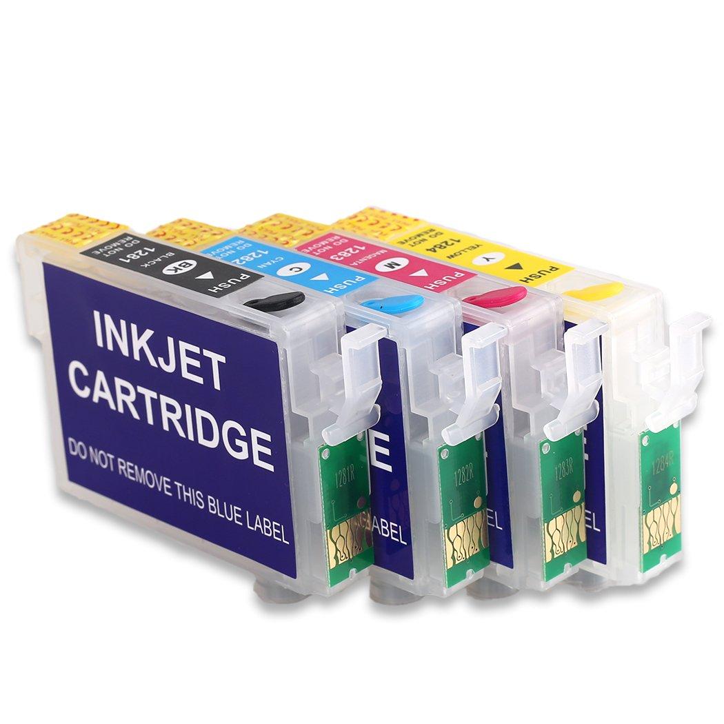 T1285 Cartucho de tinta recargable vacío compatible para la ...