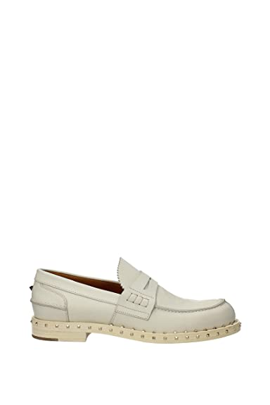 a486198c12f Valentino Garavani Mocassins Homme - Cuir (0S0950OVDI16) 42.5 EU   Amazon.fr  Chaussures et Sacs