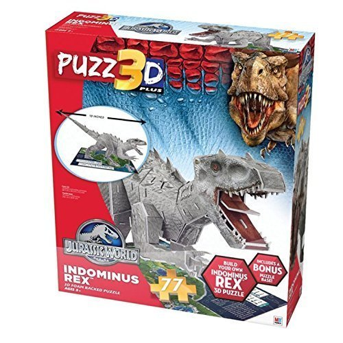 Indominus Rex Jurassic World Puzz3D 3D Foam Puzzle for sale  Delivered anywhere in USA