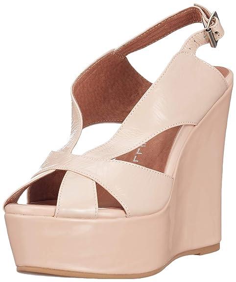 24f78afb Jeffrey Campbell Sandalias de cuña Rosa EU 38: Amazon.es: Zapatos y  complementos
