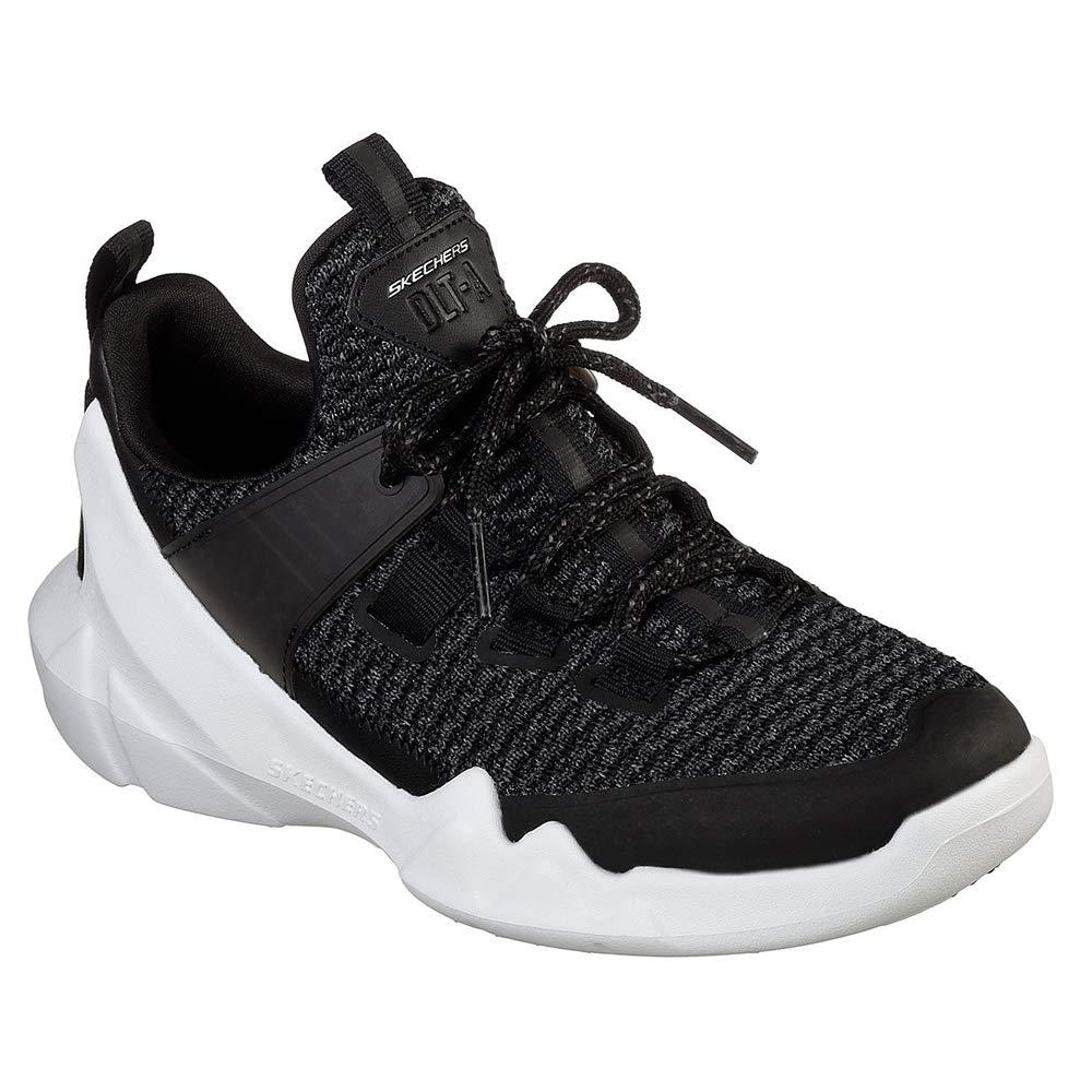 Skechers Womens D`Lites - DLT-A Black Sneaker - 7.5