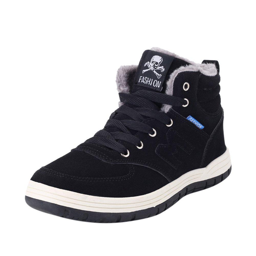 Oyedens Uomo Donna Stivali Scarpe Sportive Scarpe da Corsa Sneakers Autunno Inverno Caldo Martin Boots Outdoor Shoes Warm Ankle Snow Boots Stivali