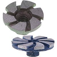 2pcs Muela Abrasiva Diamantada y Pulidora Madera/Metal/Hormigón/Piedra