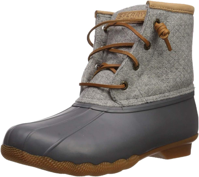 Saltwater Emboss Wool Boots