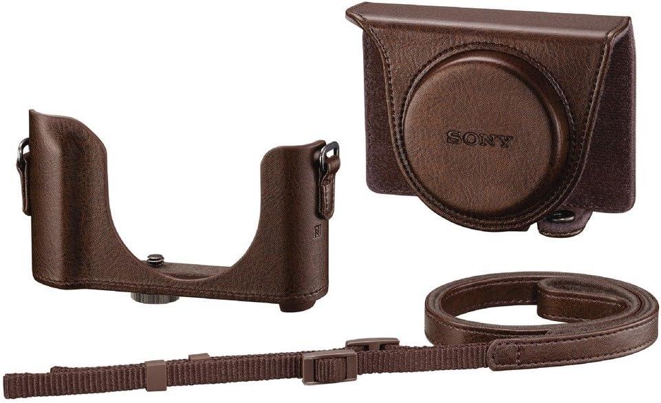 Brown Sony HX90V WX500 jacket case LCJ-HWA-T