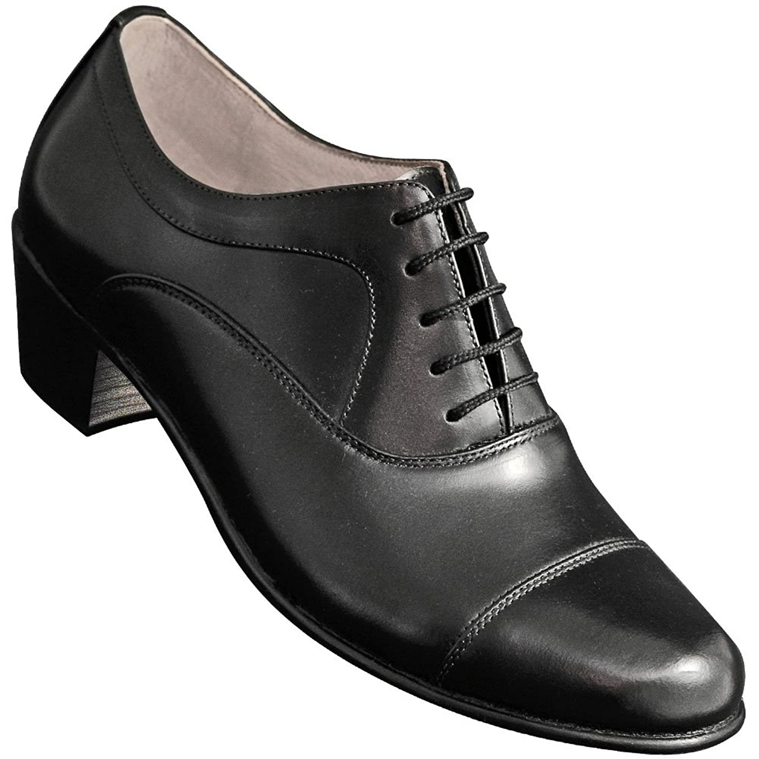 Rockabilly Men's Clothing Aris Allen Mens Captoe Tango Dance Shoe $74.95 AT vintagedancer.com