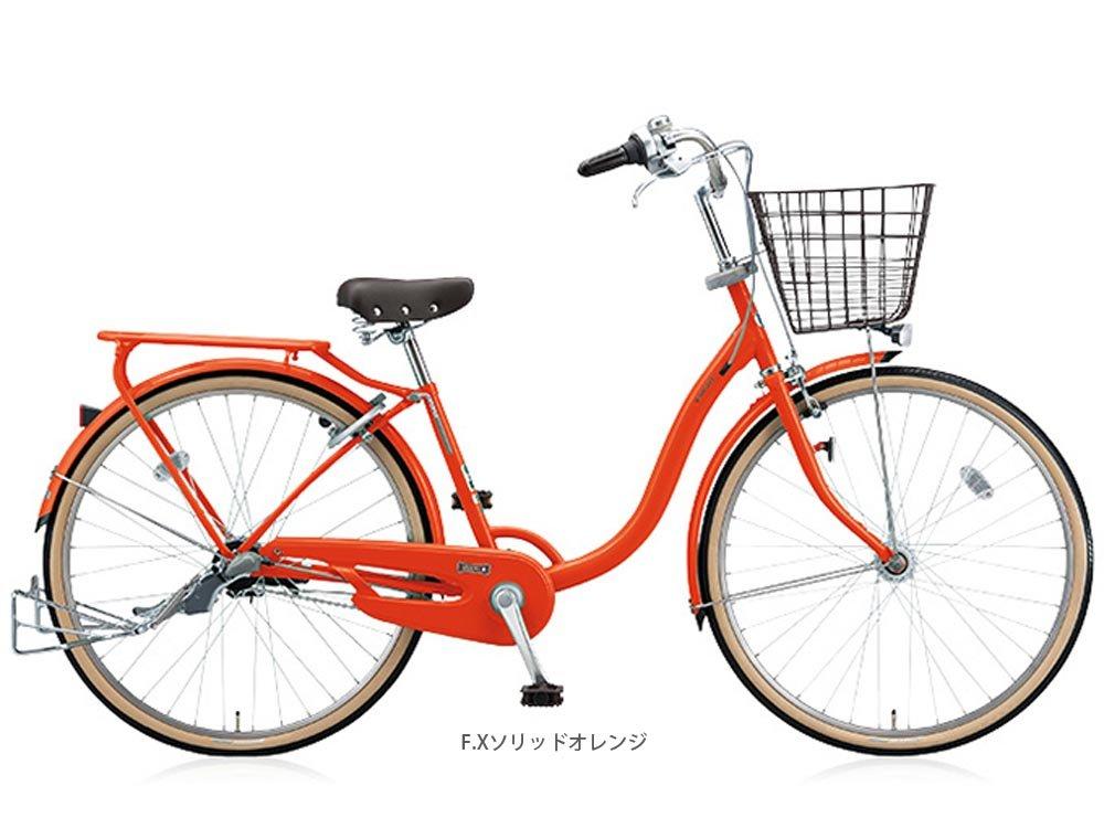 BRIDGESTON CYCLE (ブリヂストンサイクル) ユービーツー 点灯虫 26型 YV60T6 ファミリーサイクル FXソリッドオレンジ 2813 B01IBCZEWC