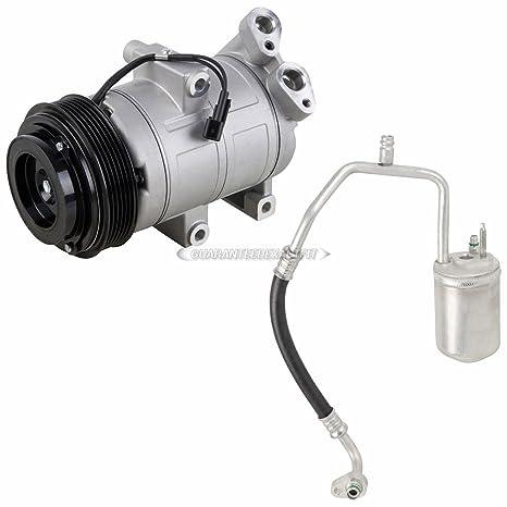 Premium calidad nueva AC Compresor y embrague con a/c secador para Ford Suv –