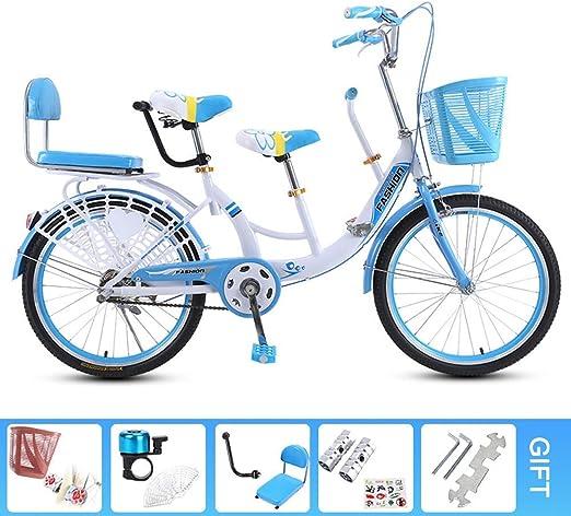 Kuan Tándem de la Bicicleta de la Bici de Padres y niños de Acero ...