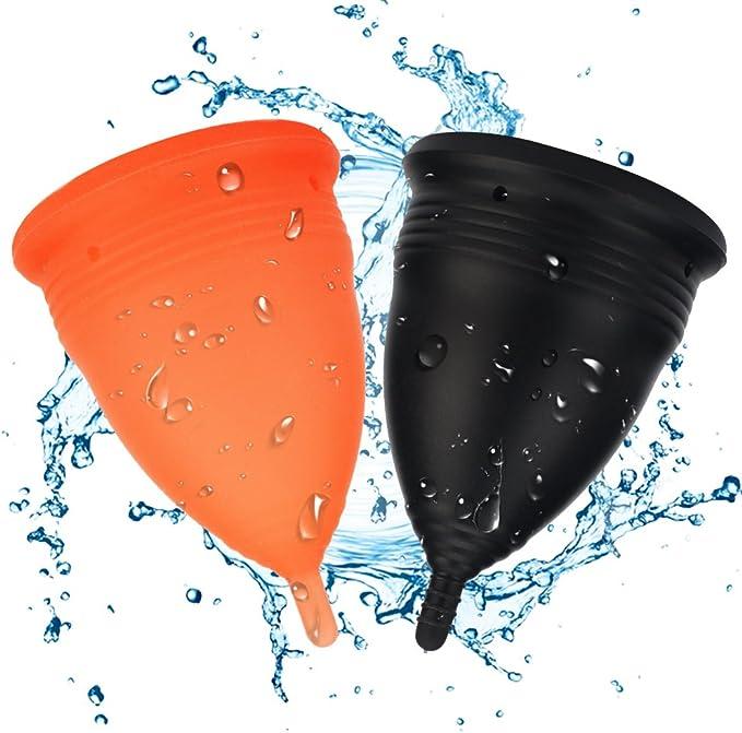bodybay Copa Menstrual, conjunto de 2 con FDA registered ...