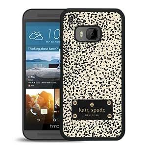 Unique Designed Kate Spade Cover Case For HTC ONE M9 Black Phone Case 196