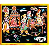 Asian Hobby Crafts 299 Emboss Painting Kit