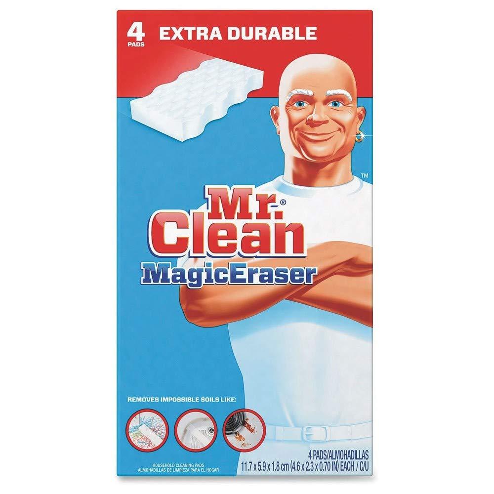 Mr. Clean Magic Eraser Extra Power Pads, Box of 4 Procter & Gamble PGC82038 290119