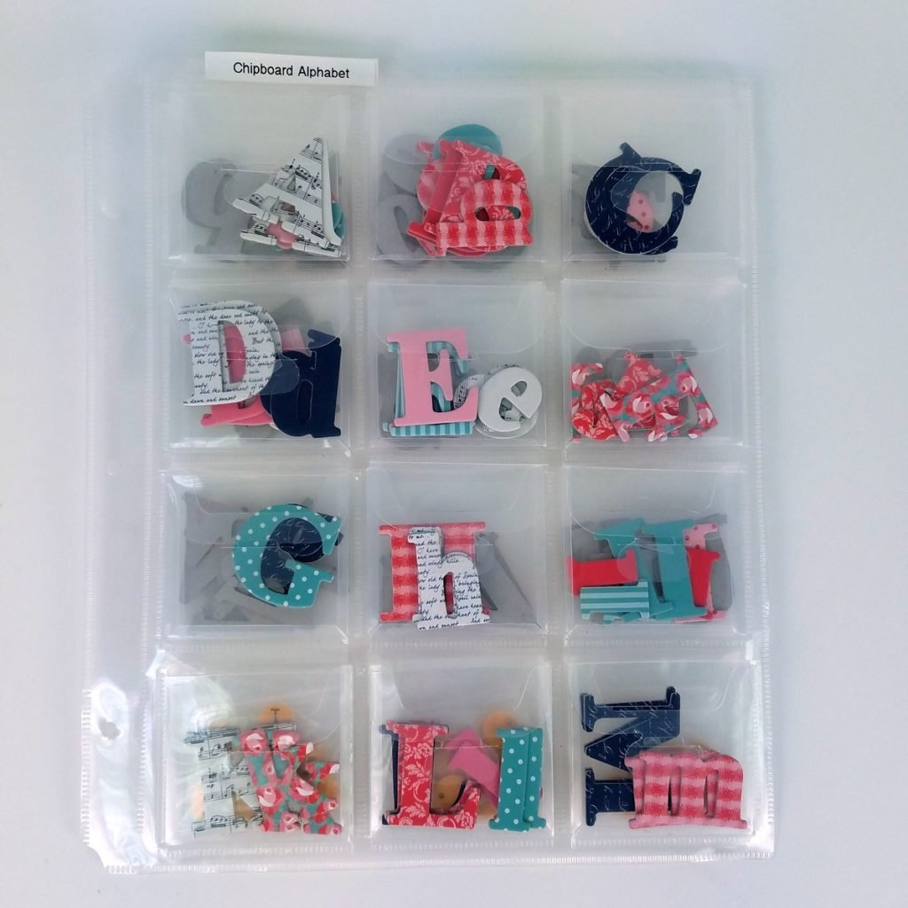 Totally-Tiffany SP50 Scrap Rack Embellishment Storage Page, 3-Pack