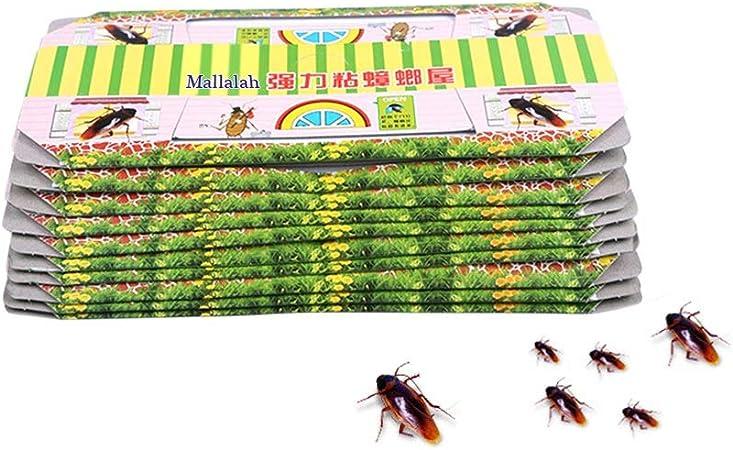 Neborn 10 piezas de cucarachas casa cucarachas trampa para matar cebo fuerte atrapasueños insectos insectos Pest Repeller ecológico, (No contiene ...