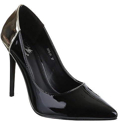 Scarpe donna vernice tacco alto scarpe alte eleganti vernice scarpe tacco cdfa5166663
