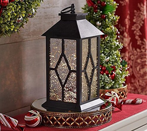 YaCool Decorative Garden Lantern - Vintage Style Hanging Lanterns Outdoor Lighting Garden Light - Battery-operated 6 Hour Timer- 12' (Spring Lighting)