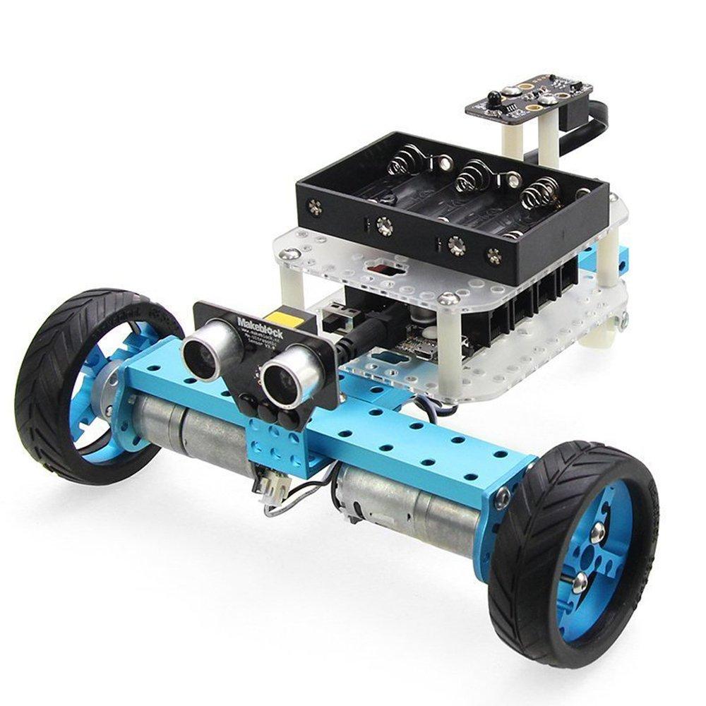 Makeblock DIY Starter Robot kit - Premium Quality - STEM Education - Arduino - Scratch 2.0 - Programmable Robot Kit for Kids to Learn Coding, Robotics and Electronics (IR Version) by Makeblock (Image #7)