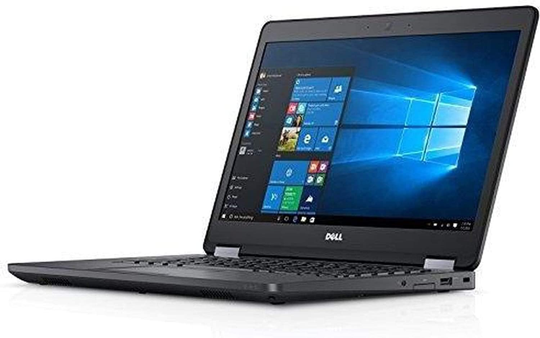 Fast Dell Latitude E5470 HD Business Laptop Notebook PC (Intel Core i5-6300U, 8GB Ram, 256GB Solid State SSD, HDMI, Camera, WiFi, SC Card Reader) Win 10 Pro (Renewed).