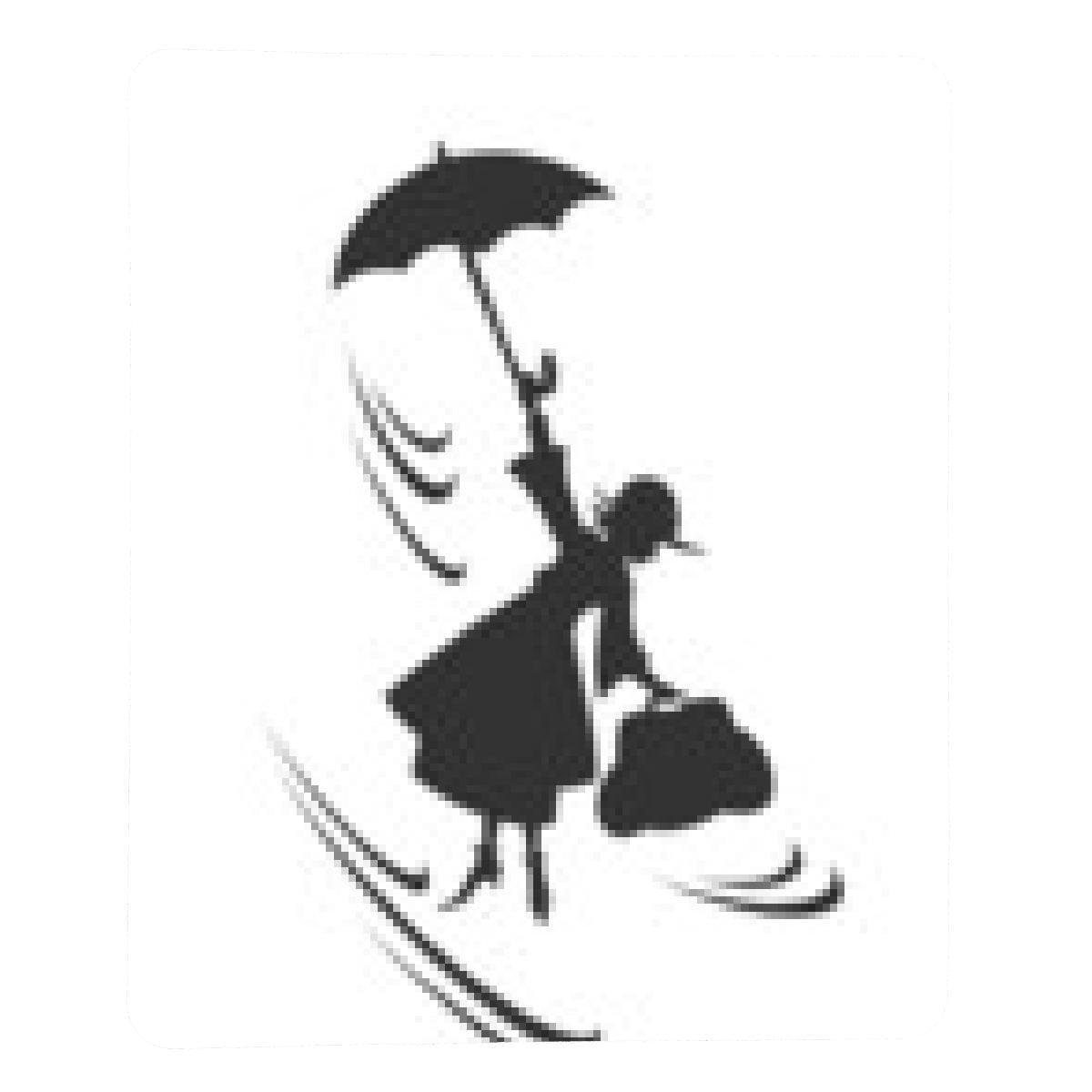 alfombrilla de ratón mary Poppins - rectangular: Amazon.es ...