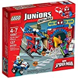 LEGO - 10687 - Juniors - Jeu de Construction - La Cachette de Spider-Man