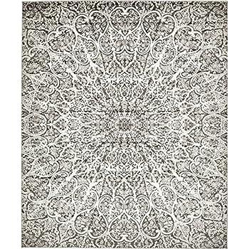 Amazon Com A2z Rug Modern Persian Vintage Design Dark
