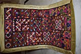 Wall Hanging Vintage Tapestry India Indian Patchwork Throw Embroidered Ethnic 87