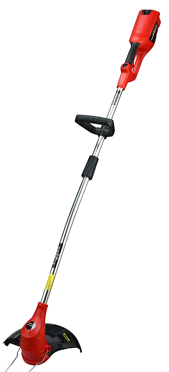 PowerSmart PS76210A 36V Cordless String Trimmer with Easy Feed, 3.0Ah Battery and Charger Include One Battery and Charger