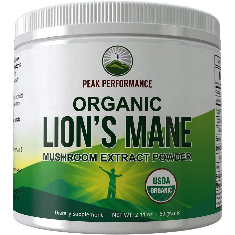 Organic Lions Mane Mushroom Powder