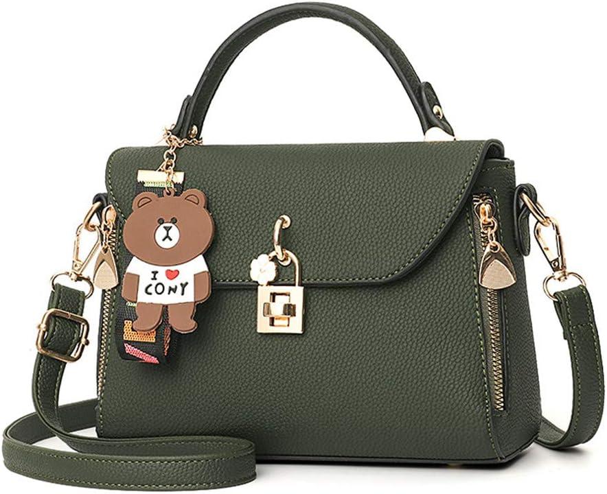 YNPGHG Neue Mobile Handtaschen Korean Fashion Lock Kleine Square Bag Damen Schulter Diagonal Paket