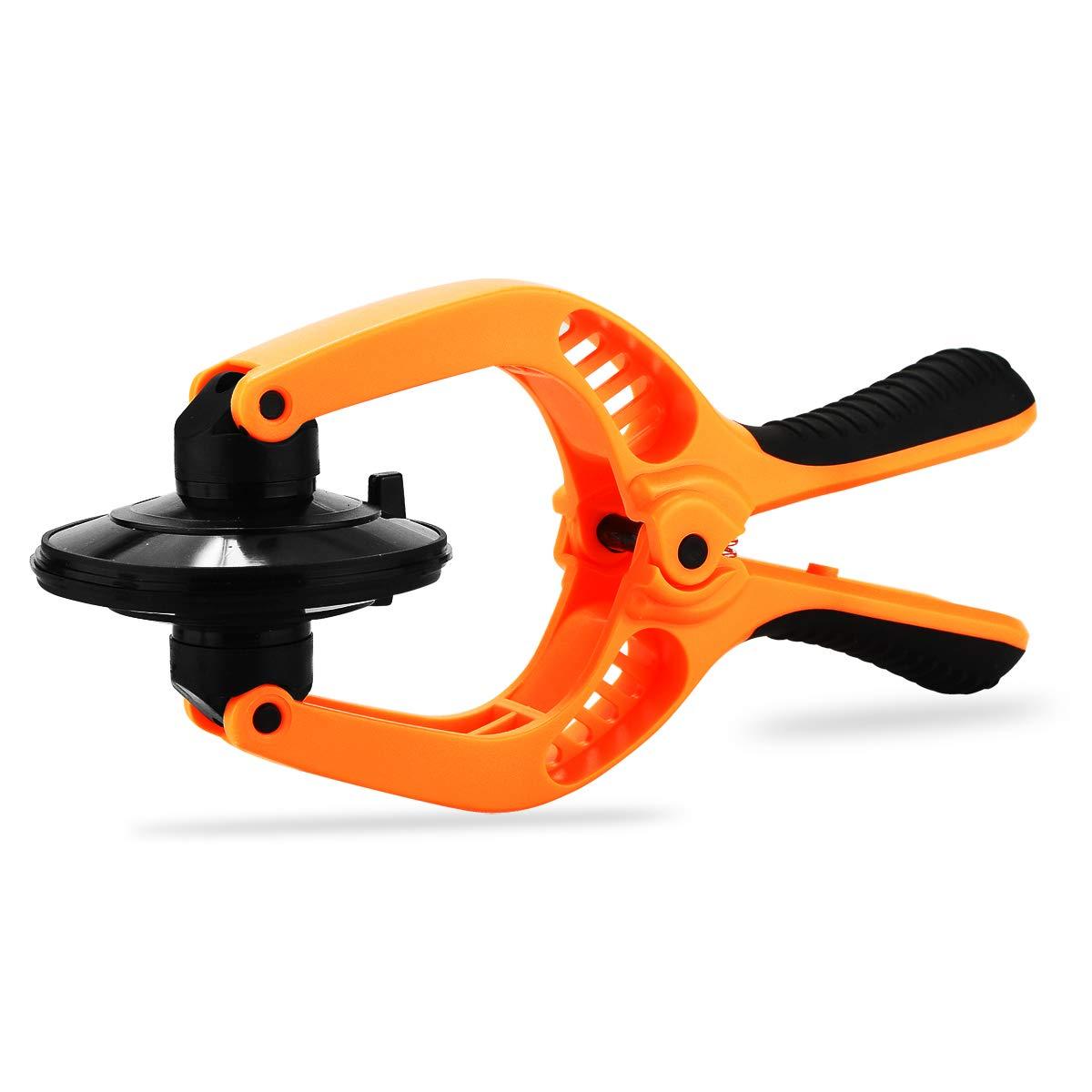Pince à dénuder de précision, Boenfu 17,8 cm Wire Pince coupante Pince coupante Outil de réparation avec Build-in Coupe-câble et trous de Looping Pince à sertir pour 10–22 AWG Stranded Fil de coupe