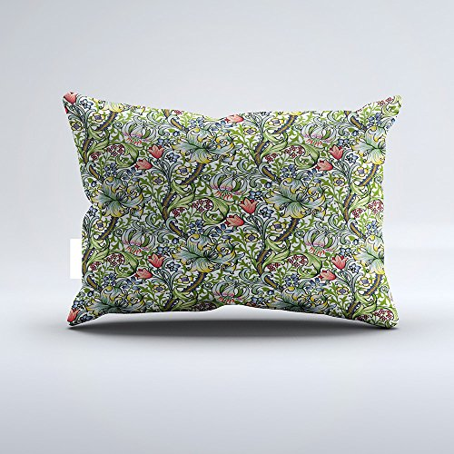 Orlando-XV William Morris Golden Lily Floral Chintz Pillowcase Pillow Cushion Cover Cases Single Side 16x24