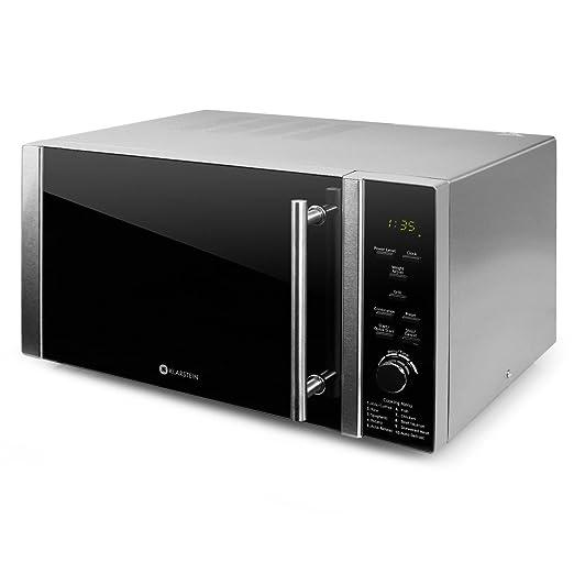 Klarstein Luminance Prime Microondas con Grill - 28L , 900W + 1000W (Parrilla) , 12 programas , Temporizador hasta 60 min, Vidrio de Seguridad , ...